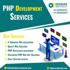 Best Php Development Services In India  Oddeven