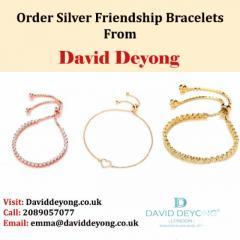 Order Silver Friendship Bracelets From David Deyong