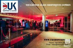 Toughened Glass Shopfronts London
