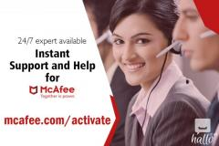 Download and Install Mcafee security