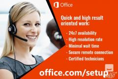 Download and Setup Msoffice account
