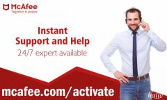 Download and Setup mcafee Security