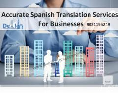 Spanish Translation Agency in Delhi - 9999933921