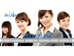 Korean translatoin Agency in Delhi - 9999933921