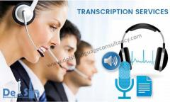 Transcription Company in Delhi - Call Today 9999933921