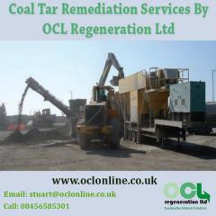 Coal Tar Remediation Services BY OCL Regeneration Ltd