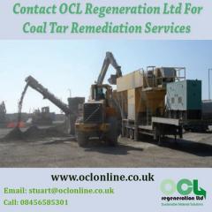 Conatct OCL Regeneration Ltd For Coal Tar Remediation