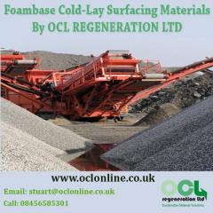 Foambase Cold-Lay Surfacing Materials By OCL