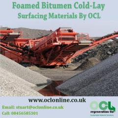 Foamed Bitumen Cold-Lay Surfacing Materials By OCL