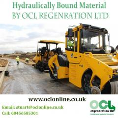 Hydraulically Bound Material By OCL Regenration Ltd