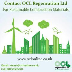 For Sustainable Construction Materials Contact OCL