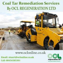 Coal Tar Remediation Services By OCL REGENERATION LTD