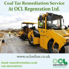 Coal Tar Remediation service At OCL Regenration Ltd.