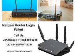 Netgear Router Login Failed  Call 44-800-041-8324