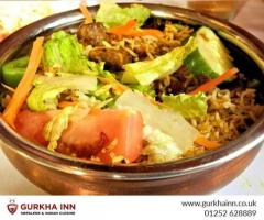 Visit the Indian Restaurant in Fleet