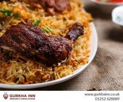 Gurkha Inn  Special Mix Biryani in Fleet
