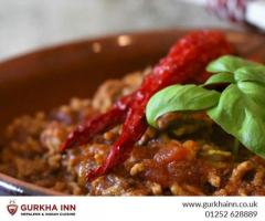 Enjoy Home Delivered Food in Fleet  Gurkha Inn