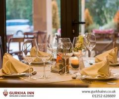 Visit The Best Restaurant in Fleet  Gurkha Inn