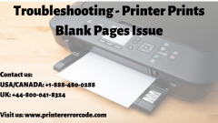How To Stop Printer Printing Blank Pages Issue