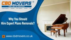 Piano Moving Services in North London