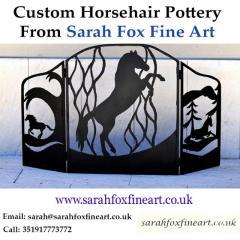 Custom Horsehair Pottery From Sarah Fox Fine Art