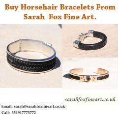 Buy Horsehair Bracelets From Sarah Fox Fine Art.