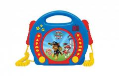 Lexibook RCDK100PA Paw Patrol CD Player with Microphone