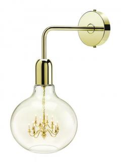 Buy Gold King Edison Wall Lamp