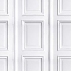 White Panelling Wallpaper Buy Online