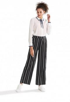 Buy Striped Loose Fit Pants at London Rag