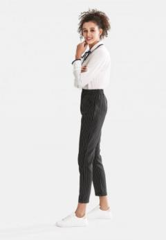 Buy Pinstripe Straight Pants from London Rag