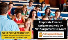 Corporate Finance Assignment Help By No1Assignme