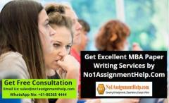 Get Mba Paper Writing Services By No1Assignmenth