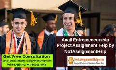 Avail Entrepreneurship Project Assignment Help
