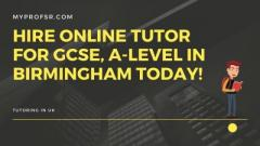 GCSE Tutor in Sutton Coldfield , Birmingham, UK
