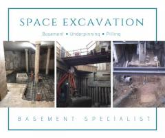 Contact Space Excavation For Basement Digging