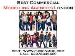 Best Commercial Modelling Agencies London