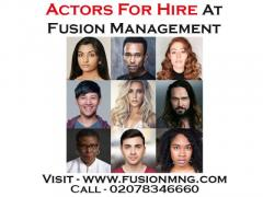 Actors For Hire At Fusion Management