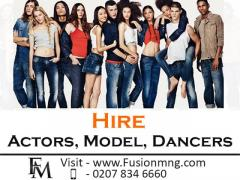 Hire Actors, Model, Dancers From Fusion Management