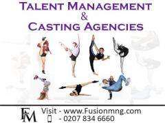 Fusion Management, Talent Management & Casting Agencies