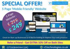 Get Web Design Services in London at Reasonable Price