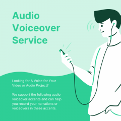 Best Audio Voice Over Service-V1 Technologies