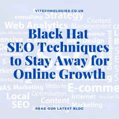 Black Hat Seo Techniques To Stay Away For Online