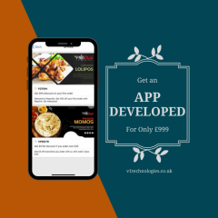 Food App Design - V1 Technologies