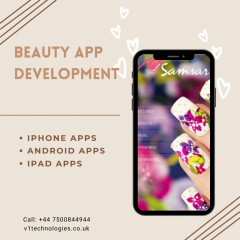 Salon App Design - V1 Technologies