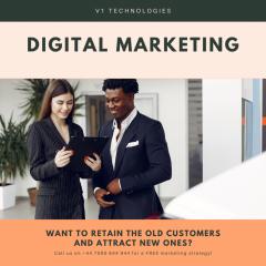 Digital Marketing Service Provider - V1 Technolo