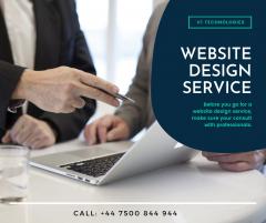 Grab The Best Website Design Service - V1 Techno