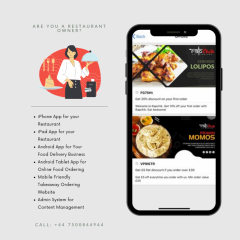 Takeaway App Design - V1 Technologies