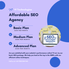 Get The Best Affordable Seo Agency - V1 Technolo