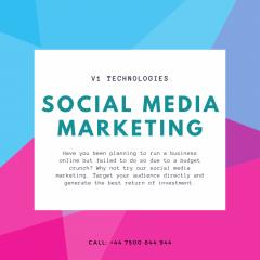 Social Media Marketing Service - V1 Technologies